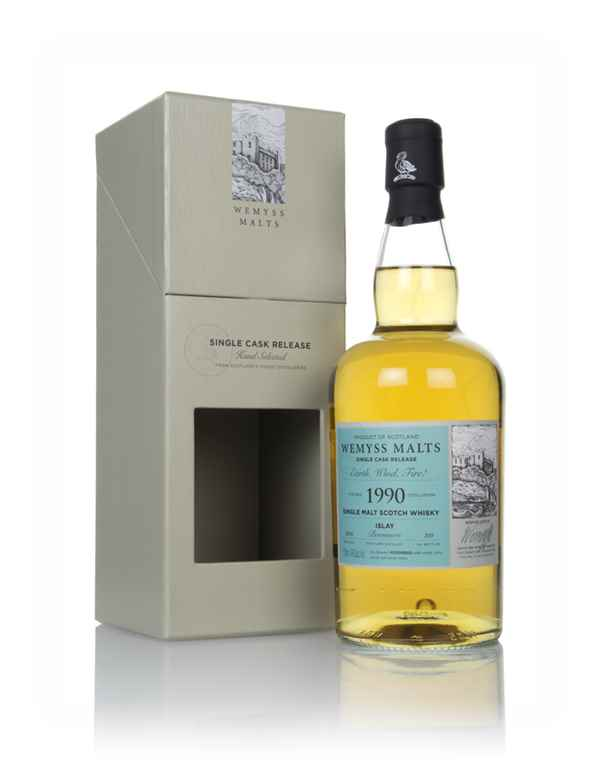 Earth, Wind, Fire! 1990 (bottled 2018) - Wemyss Malts (Bowmore)