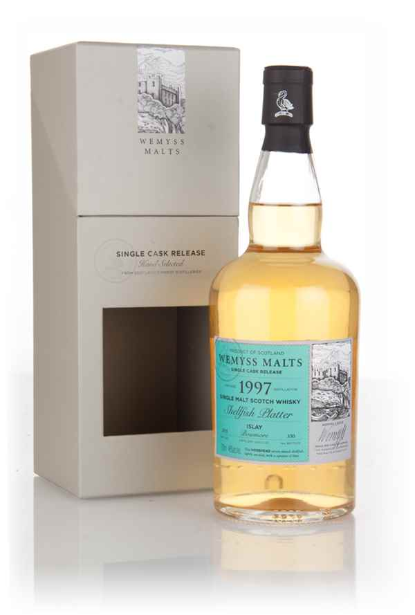 Shellfish Platter 1997 (bottled 2015) - Wemyss Malts (Bowmore)