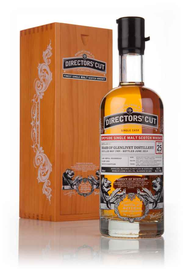 Braes Of Glenlivet 25 Year Old 1989 (cask 10350) - Directors' Cut (Douglas Laing)