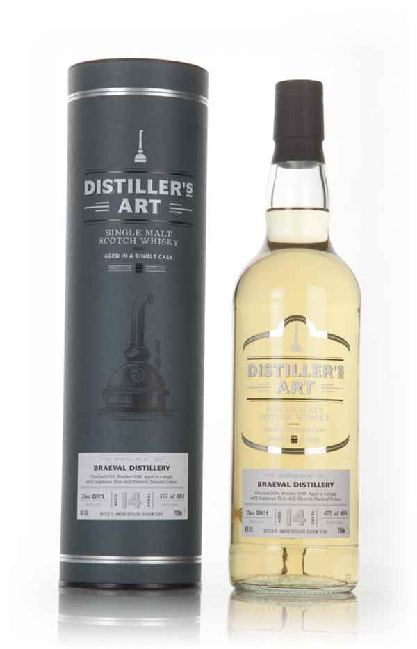Braeval 14 Year Old 2001 - Distiller's Art (Langside)