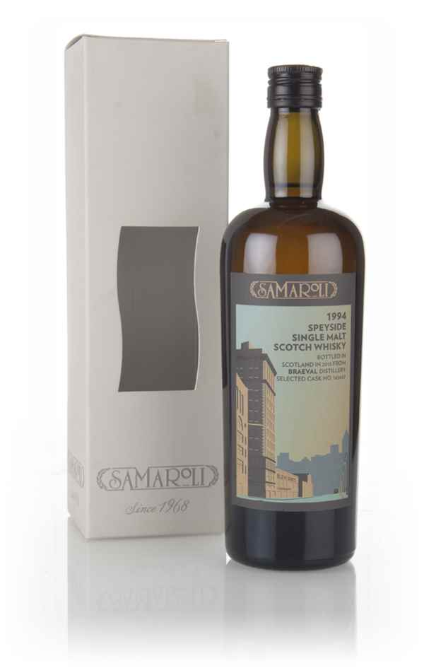 Braeval 1994 (bottled 2015) (cask 165657) - Samaroli