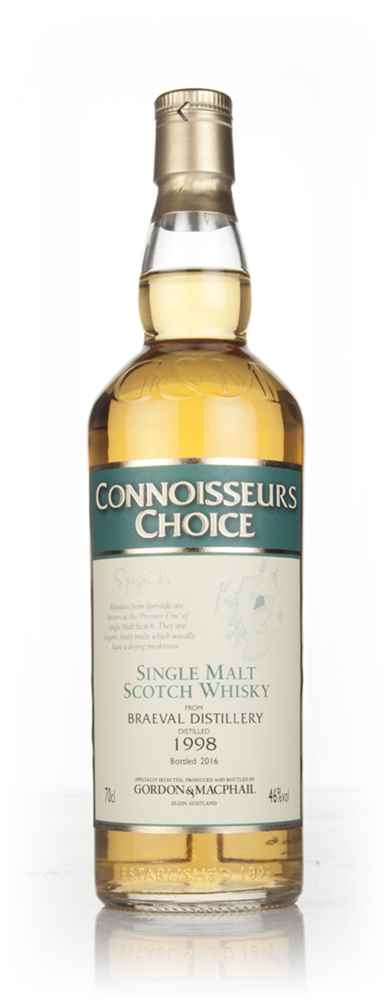 Braeval 1998 (bottled 2016) - Connoisseurs Choice (Gordon & MacPhail)