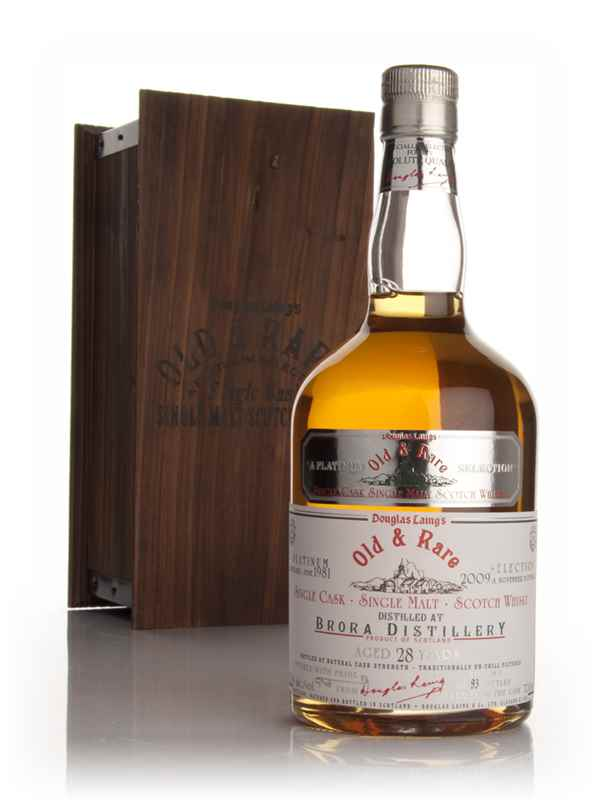 Brora 28 Year Old 1981 - Old and Rare Platinum (Douglas Laing)