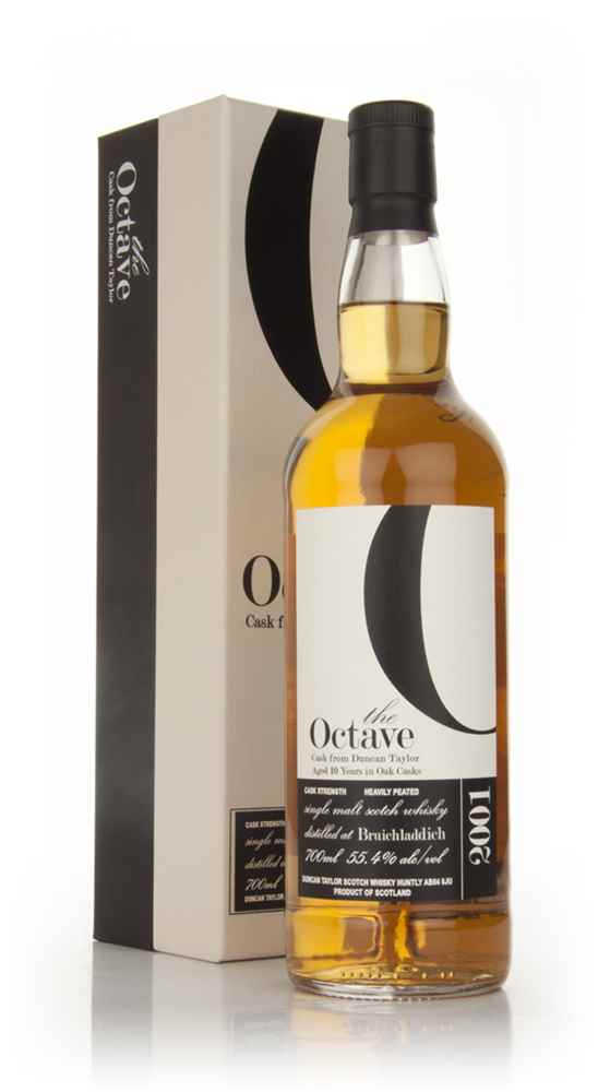 Bruichladdich 10 Year Old 2001 Heavily Peated - The Octave (Duncan Taylor)