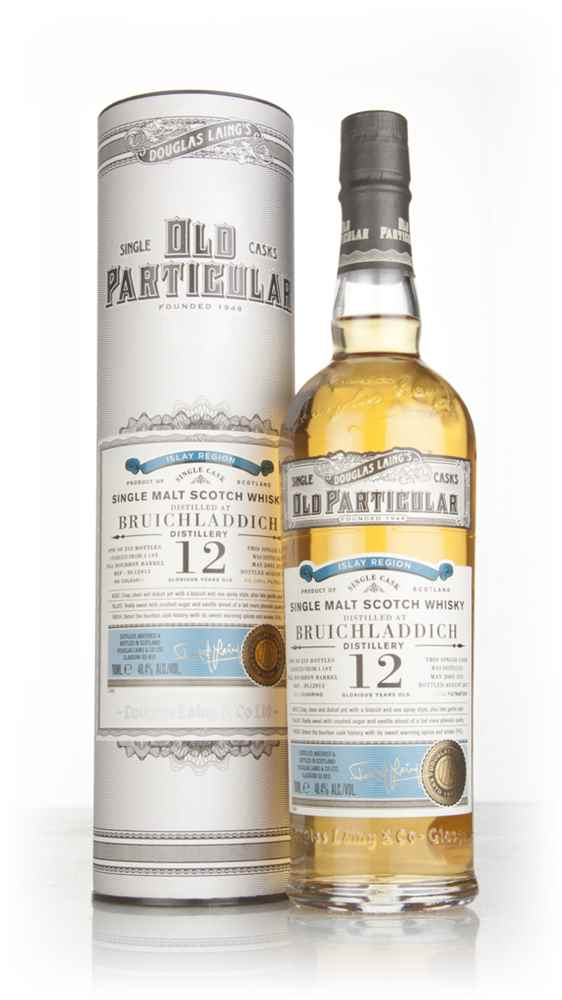 Bruichladdich 12 Year Old 2005 (cask 12013) - Old Particular (Douglas Laing)