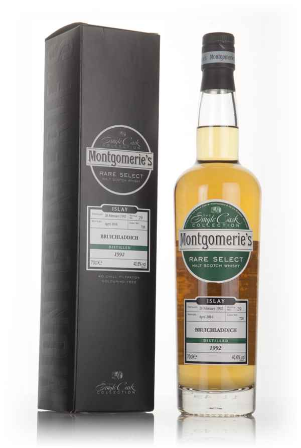 Bruichladdich 24 Year Old 1992 (cask 728) - Rare Select (Montgomerie's)