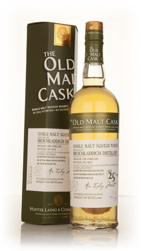 Bruichladdich 25 Year Old 1988 (cask 9810) - Old Malt Cask (Hunter Laing)