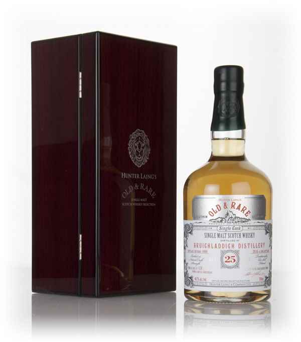 Bruichladdich 25 Year Old 1990 - Old & Rare Platinum (Hunter Laing)
