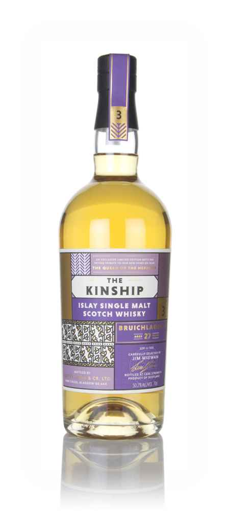 Bruichladdich 27 Year Old - The Kinship (Hunter Laing)