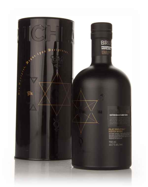 Bruichladdich 21 Year Old 1989 Black Art