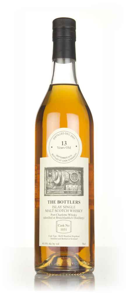 Port Charlotte 13 Year Old 2001 (cask 1031) - The Bottlers