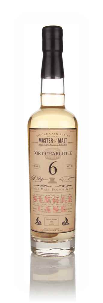 Port Charlotte 6 Year Old 2009 - Single Cask (Master of Malt)