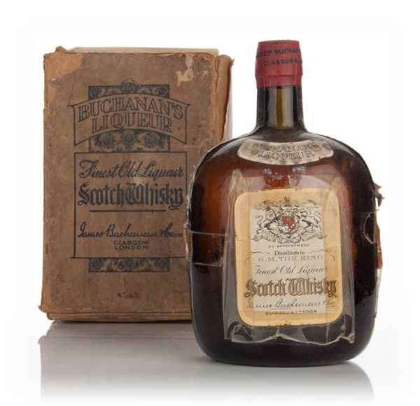James Buchanan's Finest Old Liqueur Scotch Whisky - 1936-52