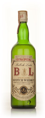 Bulloch Lade's Gold Label Scotch Whisky - 1970s