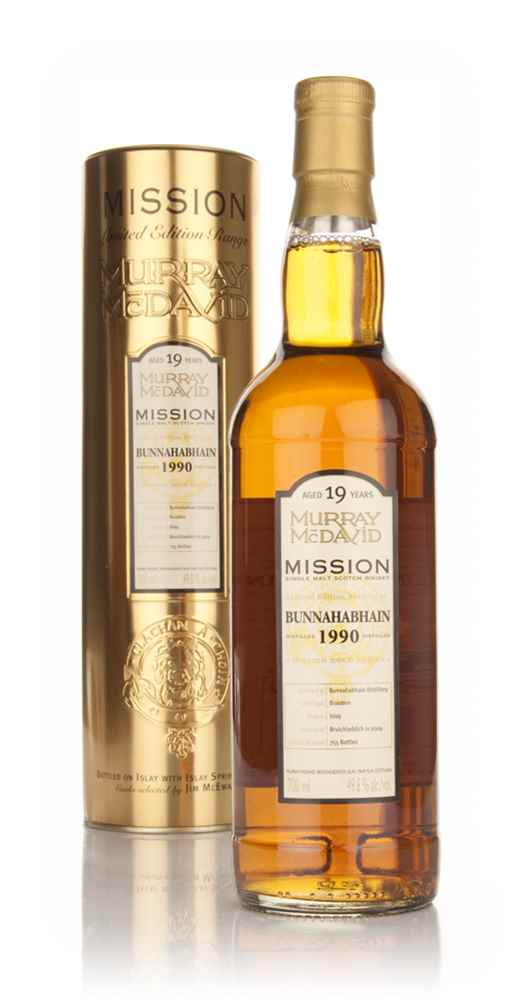 Bunnahabhain 19 Year Old 1990 - Mission (Murray McDavid)