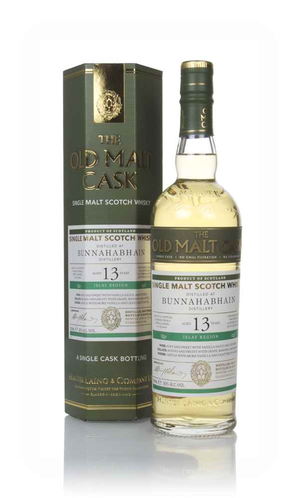 Bunnahabhain 13 Year Old 2005 (cask 16645) - Old Malt Cask (Hunter Laing)