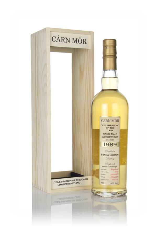 Bunnahabhain 29 Year Old 1989 (cask 5885) - Celebration Of The Cask (Càrn Mòr)