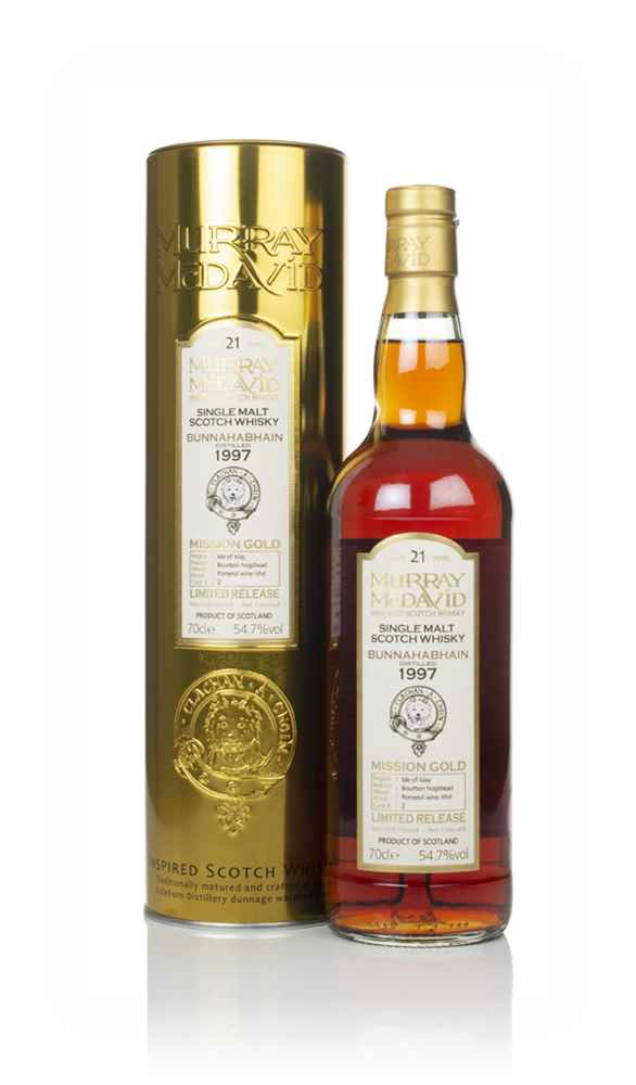 Bunnahabhain 21 Year Old 1997 (cask 2) - Mission Gold (Murray McDavid)