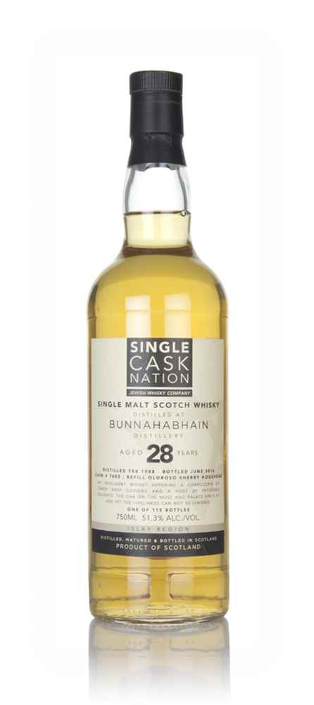 Bunnahabhain 28 Year Old 1988 (Single Cask Nation)