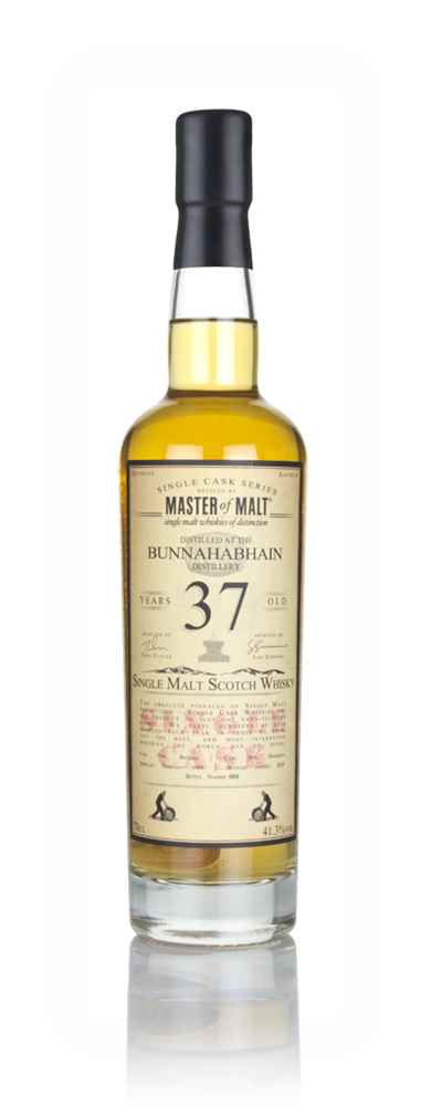 Bunnahabhain 37 Year Old 1980 - Single Cask (Master of Malt)