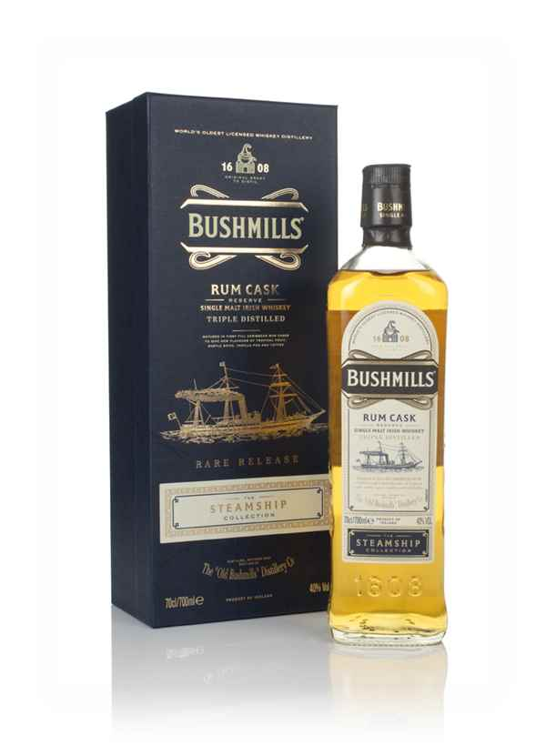 Bushmills Rum Cask Reserve - Steamship Collection