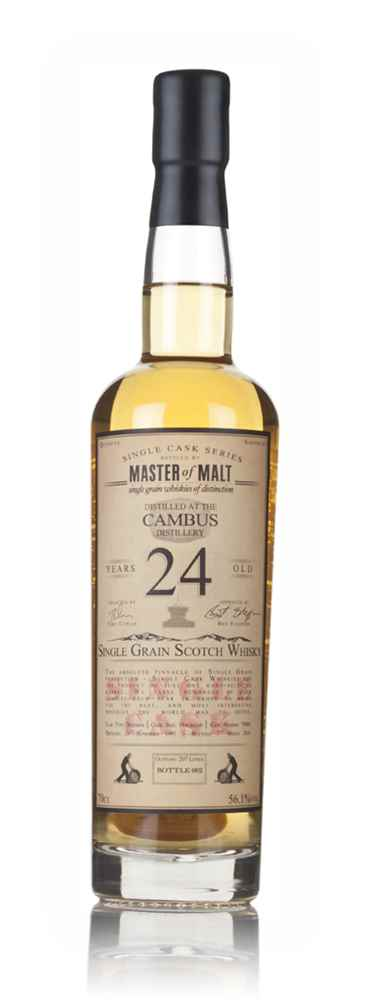Cambus 24 Year Old 1991 - Single Cask (Master of Malt)