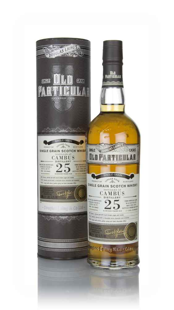 Cambus 25 Year Old 1993 (cask 13062) - Old Particular (Douglas Laing)