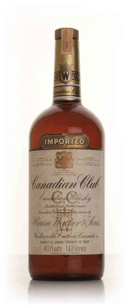 Canadian Club 113cl - 1972