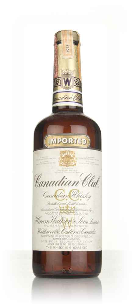 Canadian Club 6 Year Old Whisky (40%) - 1973