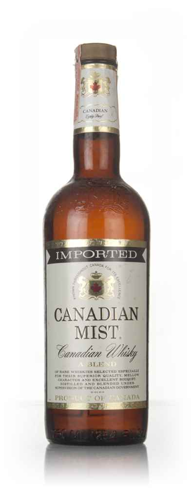 Canadian Mist 3 Year Old- 1970s