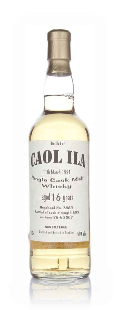 Caol Ila 16 Year Old (Bladnoch Bottling)