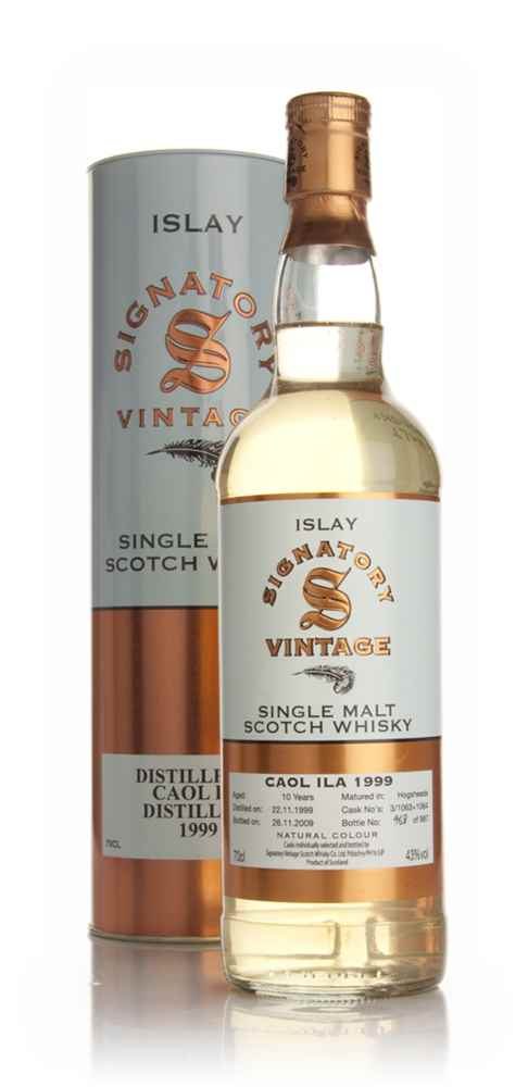 Caol Ila 10 Year Old 1999 (Signatory)