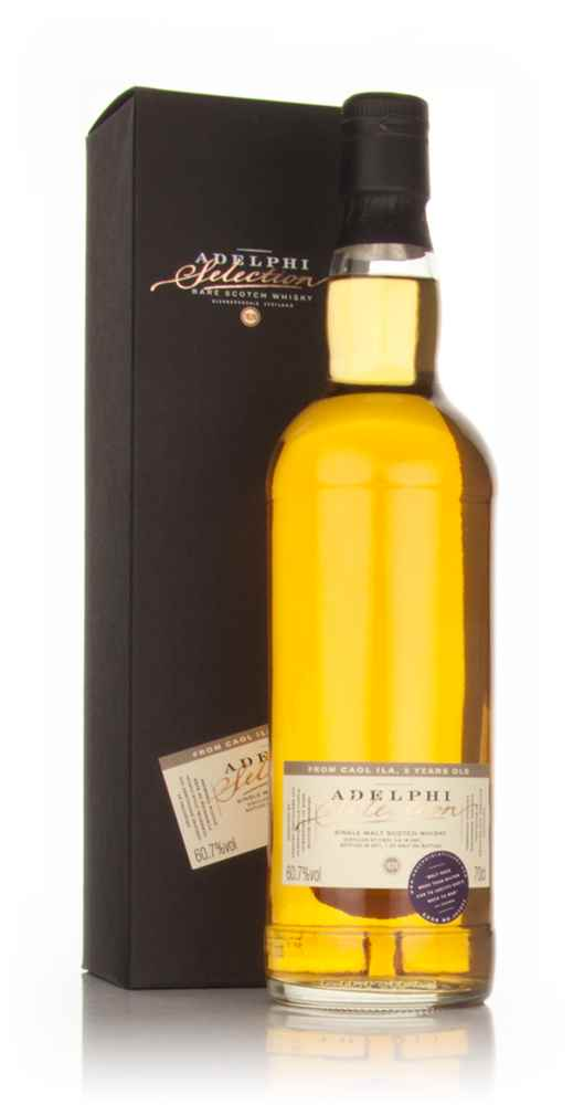 Caol Ila 9 Year Old 2001 (Adelphi)