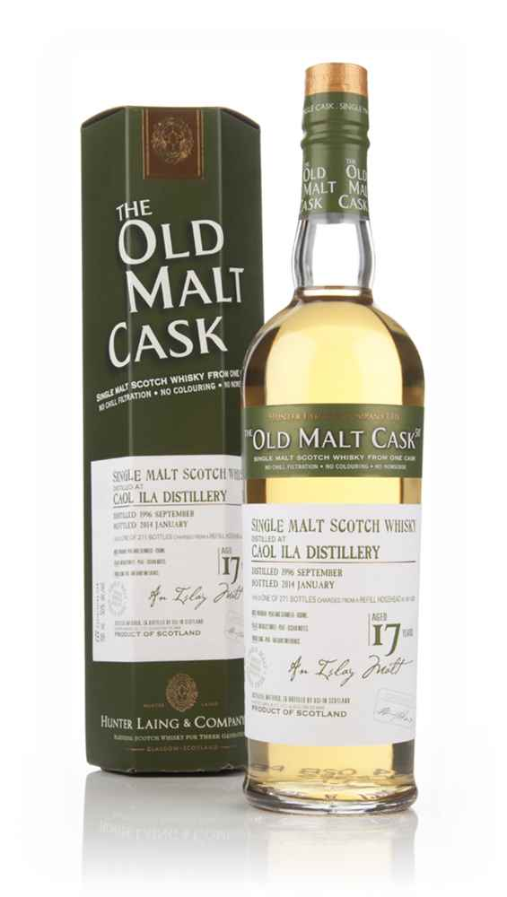 Caol Ila 17 Year Old 1996 (cask 10229) - Old Malt Cask (Hunter Laing)