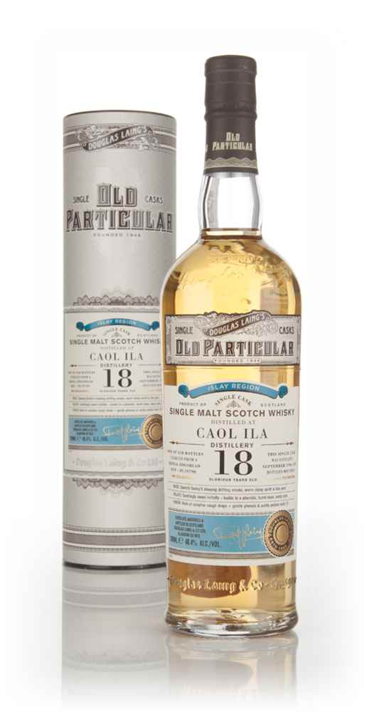 Caol Ila 18 Year Old 1996 (cask 10790) - Old Particular (Douglas Laing)
