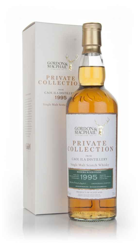 Caol Ila 1995 Madeira Wood Finish - Private Collection (Gordon & Macphail)