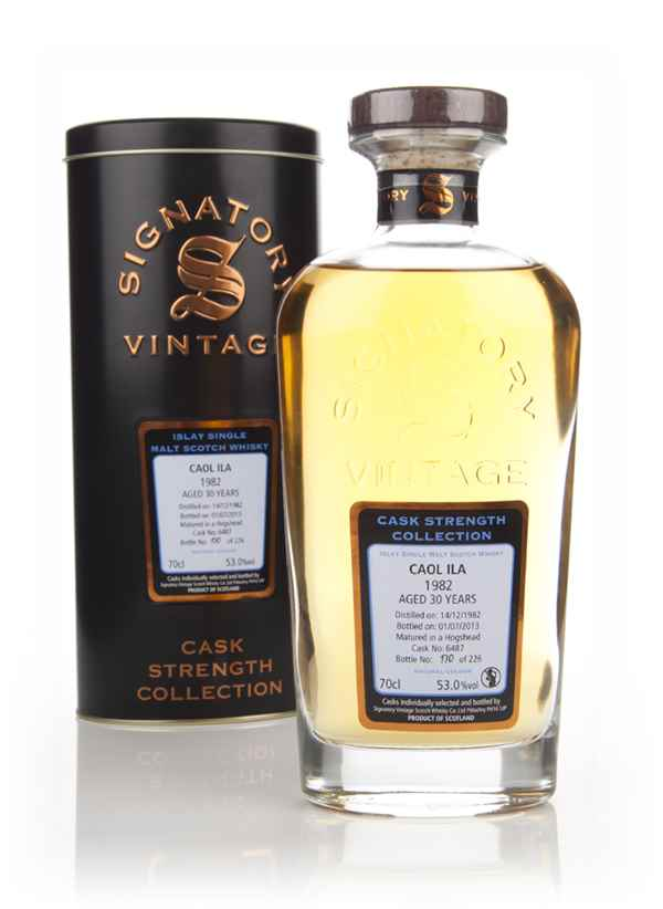 Caol Ila 30 Year Old 1982 (cask 6487) - (Cask Strength Collection) Signatory