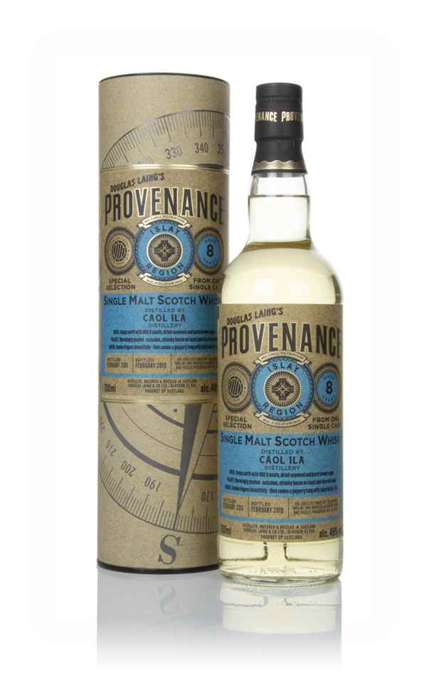 Caol Ila 8 Year Old 2011 (cask 13077) - Provenance (Douglas Laing)