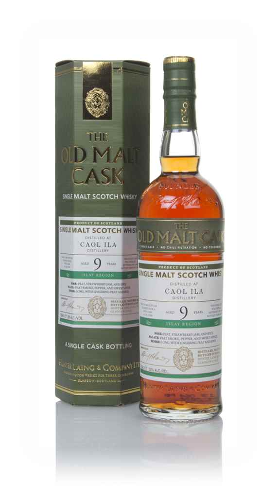 Caol Ila 9 Year Old 2009 (cask 15799) - Old Malt Cask (Hunter Laing)