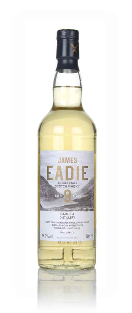 Caol Ila 9 Year Old 2009 (casks 314152, 314165 & 315013) - James Eadie