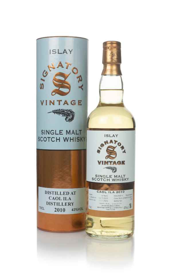 Caol Ila 9 Year Old 2010 (casks 324050 & 324052) - Signatory