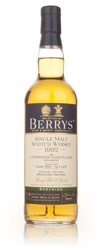 Caperdonich 20 Year Old 1992 (cask 121125) - (Berry Bros. & Rudd)