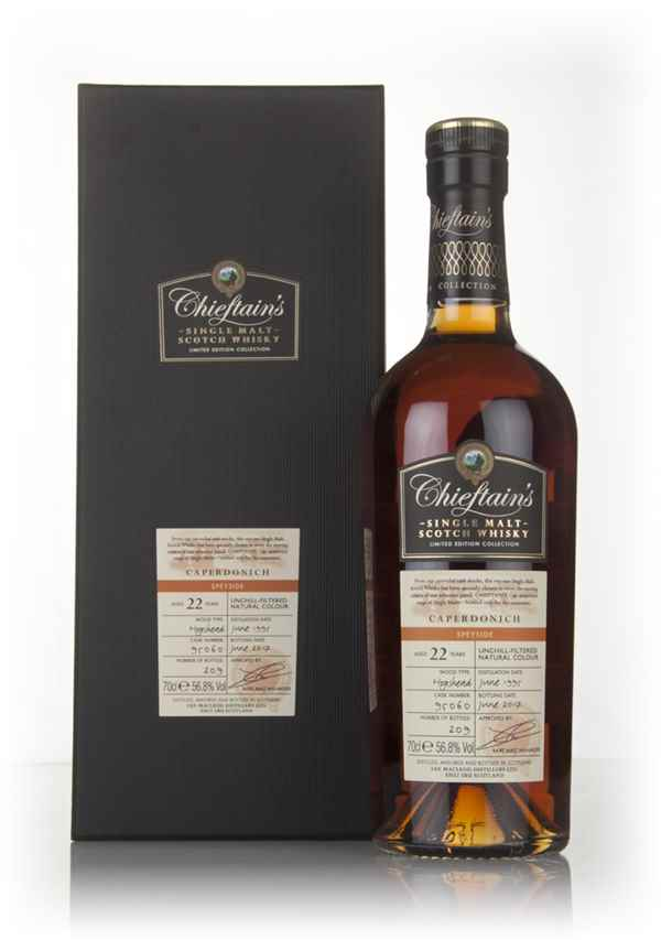 Caperdonich 22 Year Old 1995 (cask 95060) - Chieftain's (Ian Macleod)