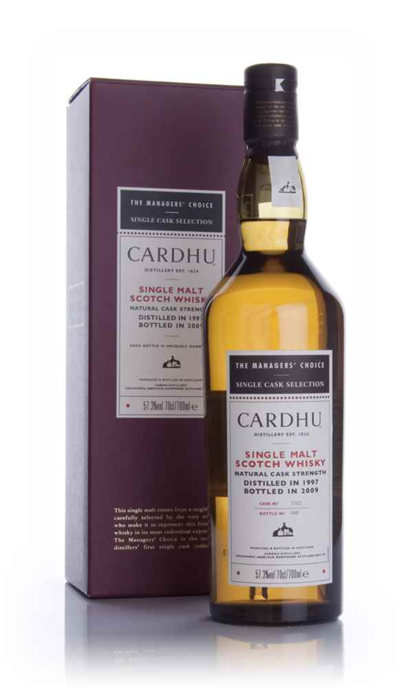 Cardhu 1997 - Managers Choice