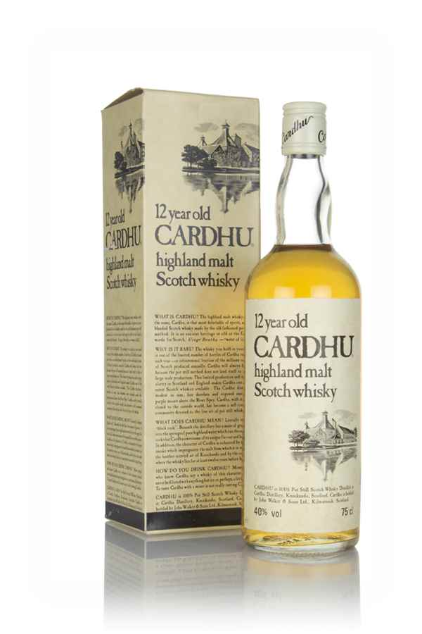 Cardhu 12 Year Old (With Presentation Box) - 1980s