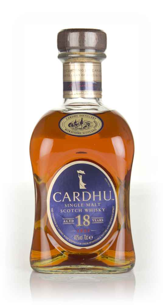 Cardhu 18 Year Old