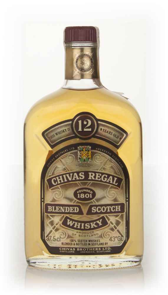 Chivas Regal 12 Year Old 37.5cl (Old Bottling)