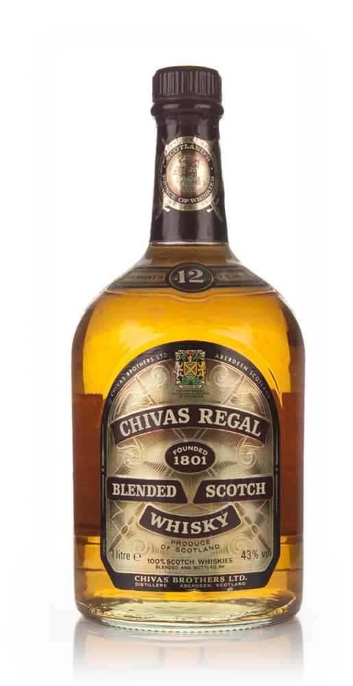 Chivas Regal 12 Year Old 1l - 1980s