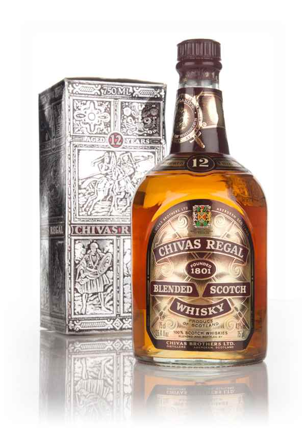 Chivas Regal 12 Year Old (43%) (Boxed) - 1970s