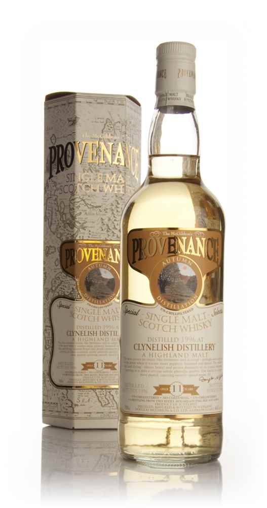 Clynelish 11 Year Old 1996 - Provenance (Douglas Laing)